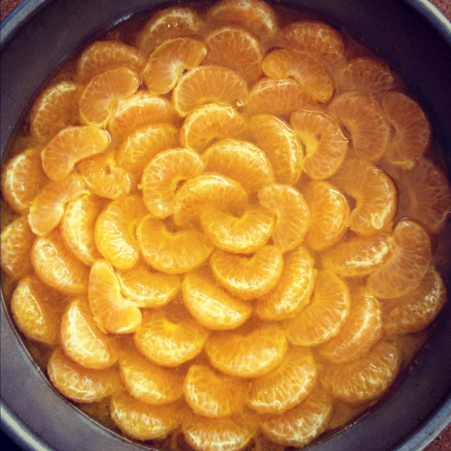 Canned Oranges Cake Recipe