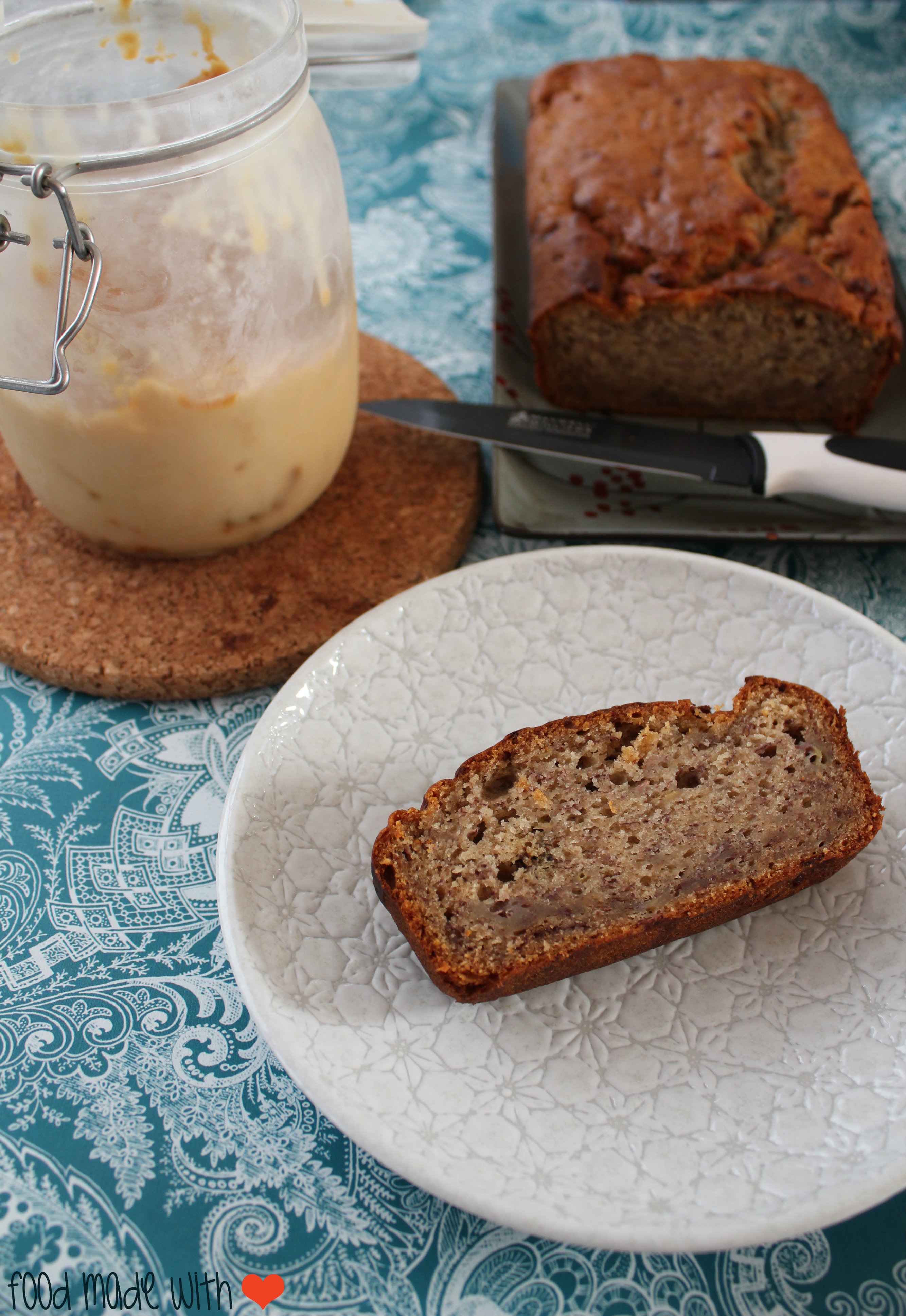 Eggless vegan banana bread food made with love eggless vegan banana bread forumfinder Images