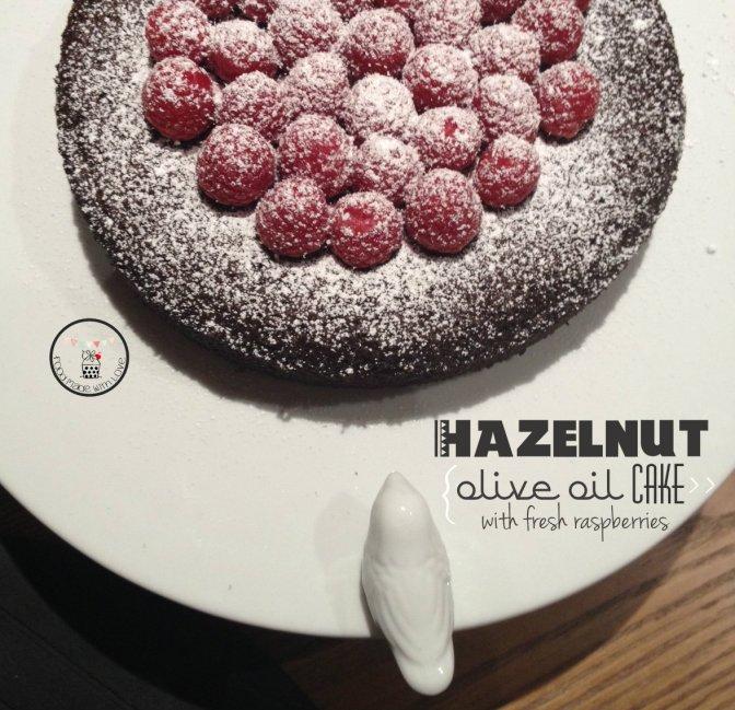 Hazelnut Olive Oil Cake