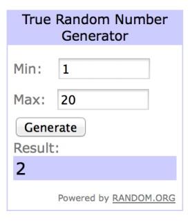 winner- random org